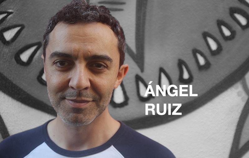 Ángel Ruiz, profesor de voz de la escuela de interpretación en Madrid